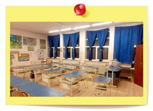 Učionice su lepe, prostrane, sa novim belim i tradicionalnim zelenim tablama.