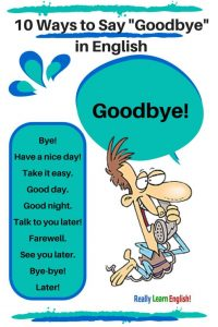 Goodbye in Eng