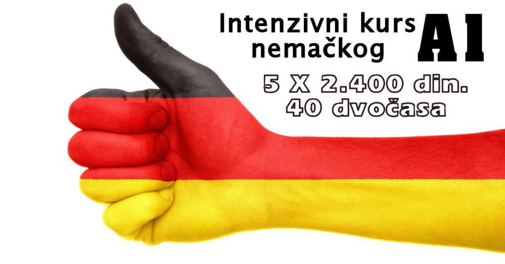 intenzivni kurs nemačkog A1 - škola jezika Liber