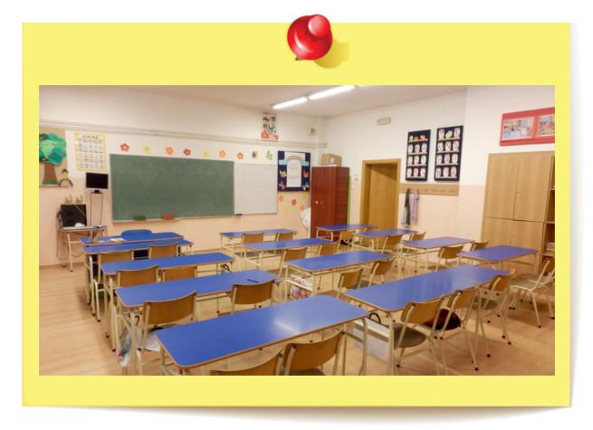 Učionica za kurseve jezika