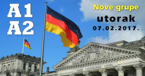 Nemački jezik – A1 i A2